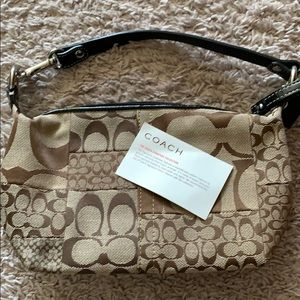 NEW Coach mini-tote!